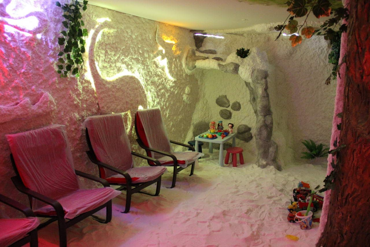 Salt caves in Moscow 47